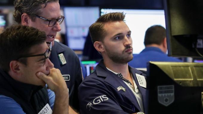 圖:AFP  美國指數期貨盤前大幅下跌