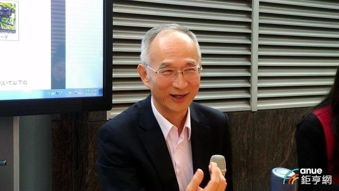 鴻海集團副總裁暨亞太電董事長呂芳銘。(鉅亨網記者彭昱文攝)