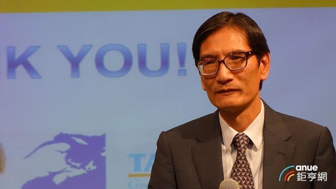 泰昇董事長戴朝榮。(鉅亨網記者張欽發攝)