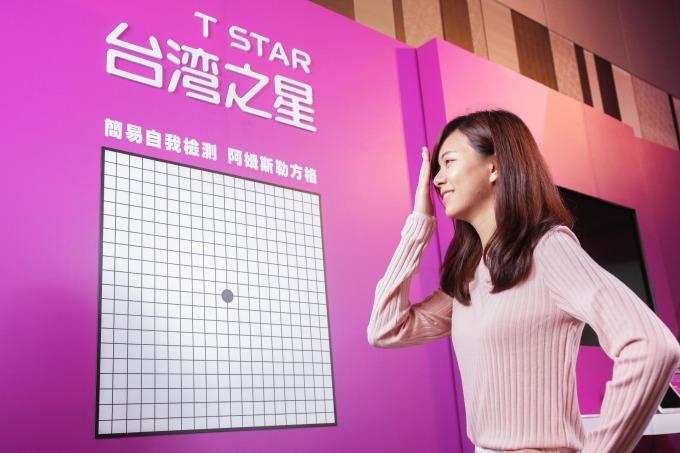 台灣之星呼籲國人正視黃斑部病變,使用 3C 產品每 30 分鐘休息 5 分鐘,並養成每半年視力檢查的良好習慣。