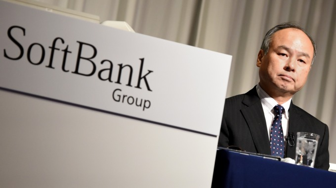 軟銀行動業務當機引發巨大混亂。(圖:AFP)