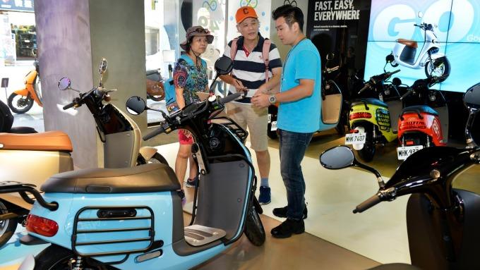 電動車風潮興起,將帶動銅的需求爆發成長。(圖:AFP)