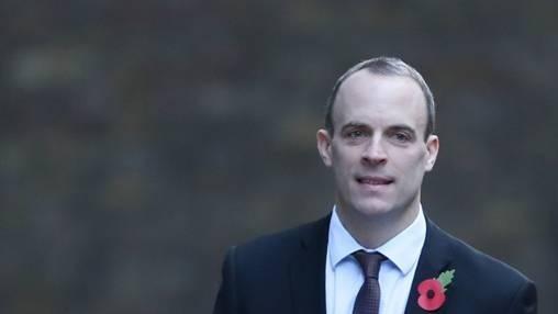 (圖五:英國脫歐大將 Dominic Raab,AFP)