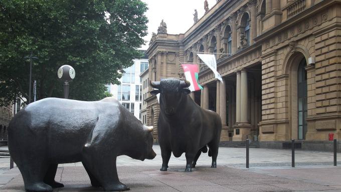 投資專家認為,美股陷入「混亂修正」。(圖:AFP)