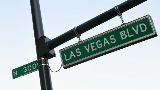 拉斯維加斯街景 (圖片來源:AFP)