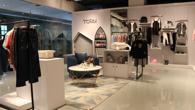 淘帝TOPBI品牌的實體店面。(圖:淘帝提供)