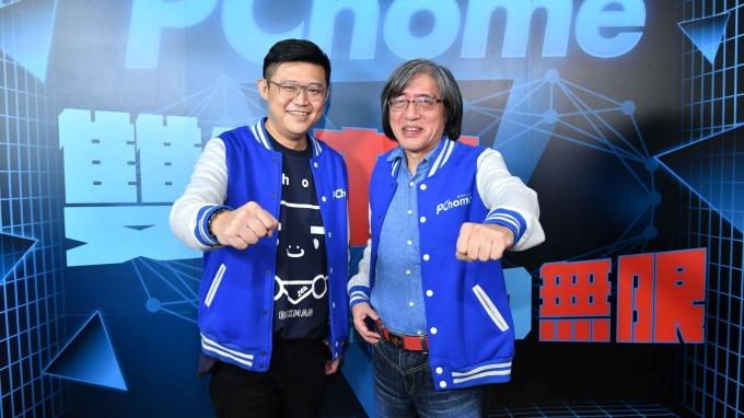 網家董事長詹宏志(右)與總經理蔡凱文(左)。(圖:網家提供)