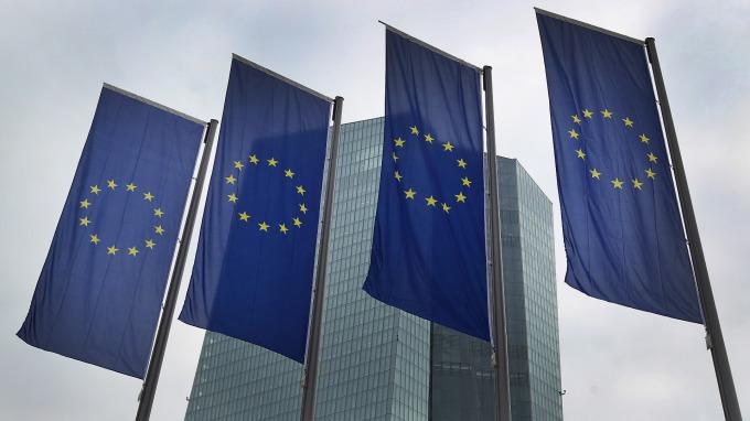 歐元區投資人信心跌至4年低點。(圖:AFP)