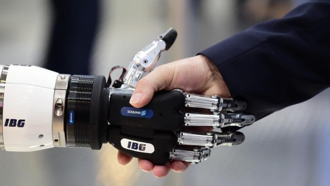 機器人崛起。(圖:AFP)