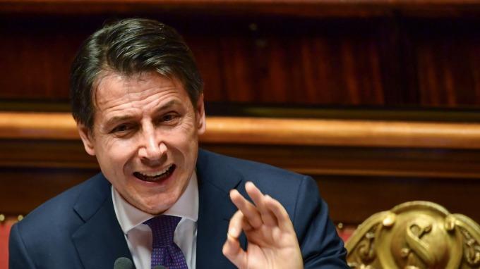 義大利總理孔特帶頭作出了重大讓步承諾。(圖:AFP)