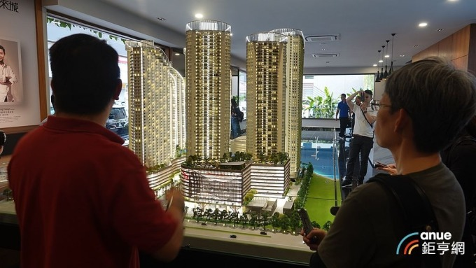 房市回溫 ,今年來北台灣住宅新建案完銷比例年增1.8個百分點。(鉅亨網記者張欽發攝)