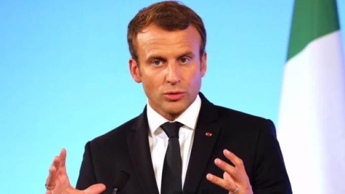 法國總統馬克宏(Emmanuel Macron)(圖:AFP)