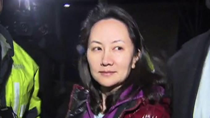 圖:AFP  華為財務長孟晚舟