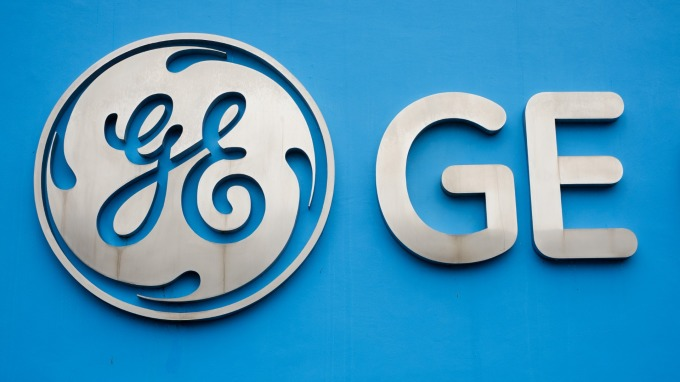 GE股價創至少三年最大漲幅。(圖:AFP)