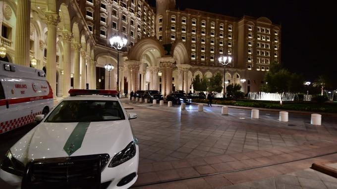 利雅得麗思卡爾頓酒店(圖:AFP)