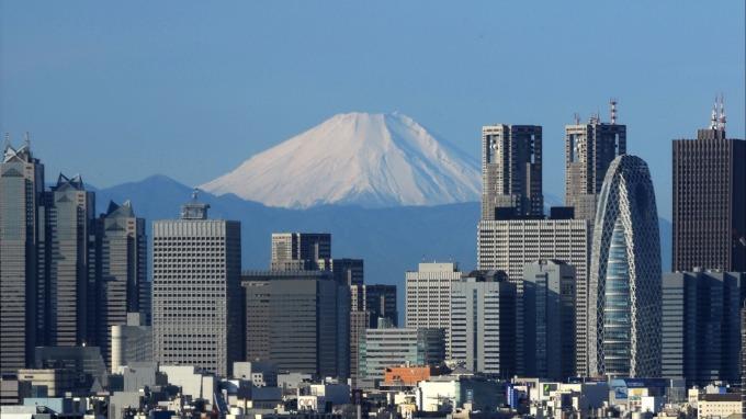 東京街景 (圖片來源:AFP)