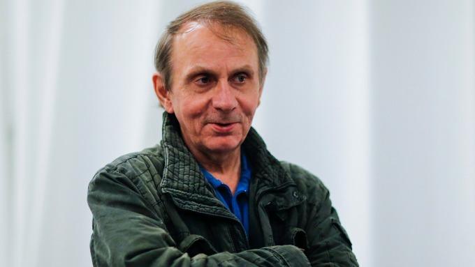 圖:AFP  法國小說家維勒貝克