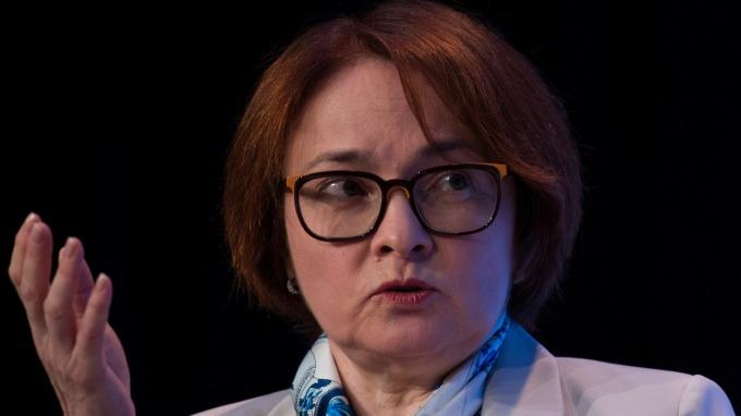 圖:AFP  俄羅斯央行總裁艾爾薇拉