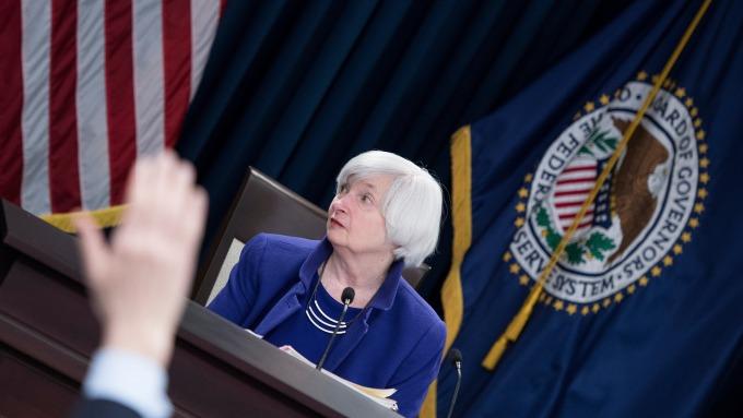 圖:AFP  前Fed主席葉倫