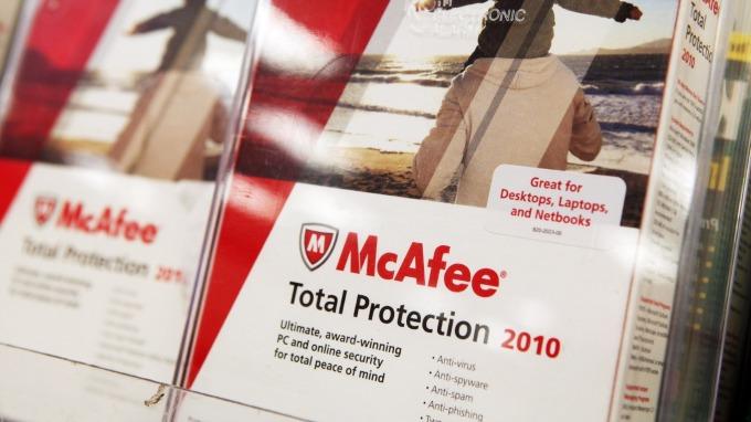 英特爾和TPG洽談以逾42億美元出售McAfee給私募股權Thoma Bravo      (圖:AFP)