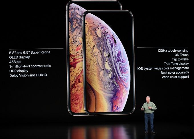 蘋果手機行銷圖片 / 圖:afp