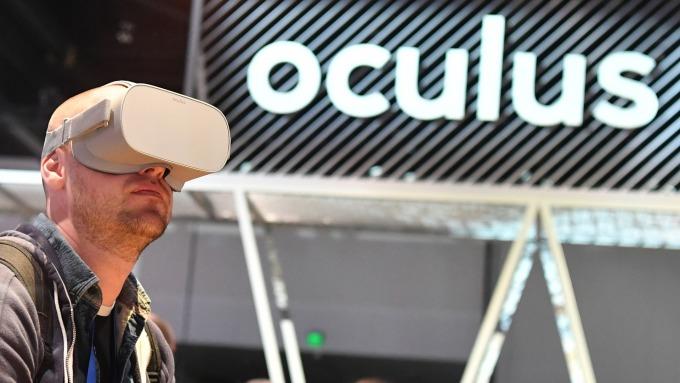 Oculus Go (圖片來源:AFP)