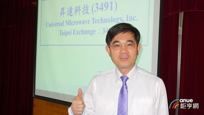 昇達科技總經理吳東義。(鉅亨網記者張欽發攝)
