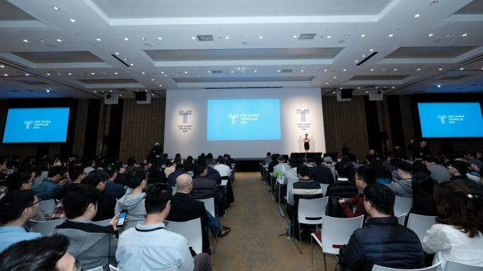 LINE今(21)日在台舉辦第三屆開發者大會「LINE TAIWAN TechPulse 2018」。(圖:LINE提供)