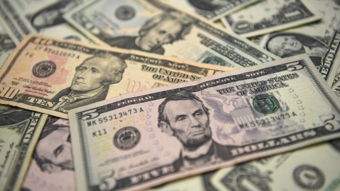 美元(圖:AFP)