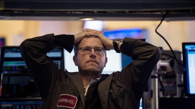 美股走勢如2008年再現。(圖:AFP)