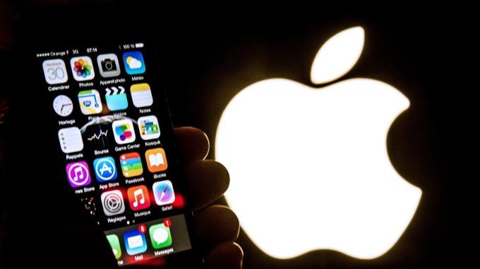 蘋果近20年來首次下修財測。(圖:AFP)
