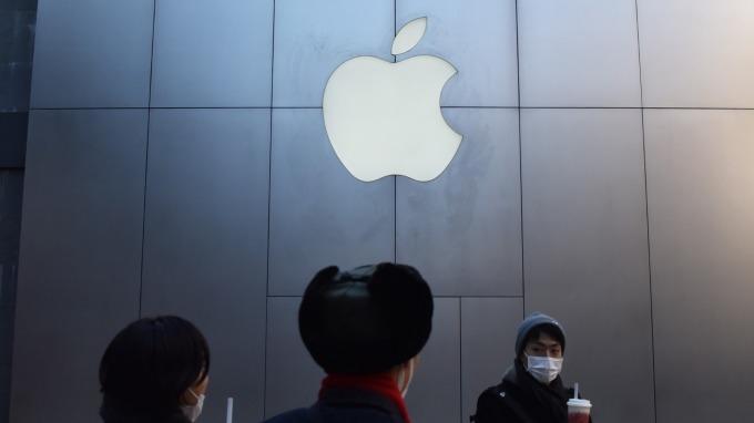 華爾街不認為蘋果會發動大型收購案 但推荐3支股票可供選擇      (圖:AFP)