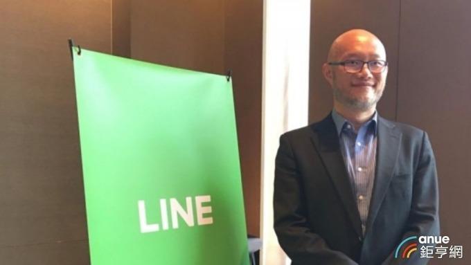 LINE Bank積極籌備爭取純網銀執照到手,圖為LINE Bank台灣董事長暨總經理陳立人。(鉅亨網資料照)