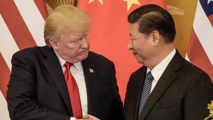 圖:AFP  中美貿易談判今明二日在北京舉行
