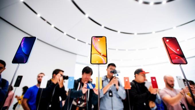 iPhone面臨中國消費者抵制。(圖:AFP)