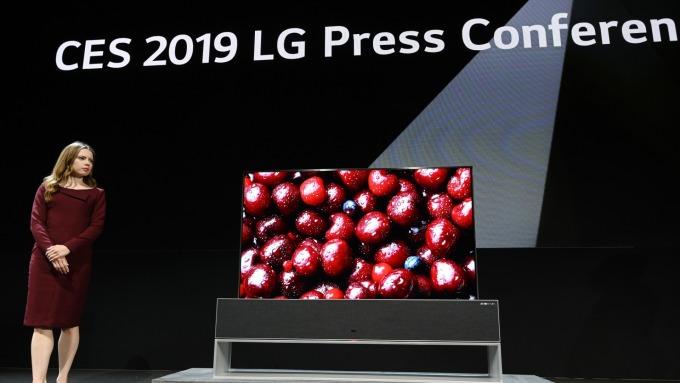LG發布獲利預警。(圖:AFP)