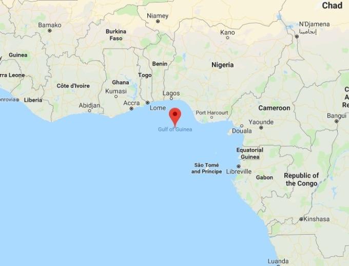 Gulf of Guinea / 圖:谷歌
