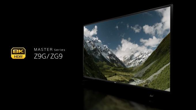 索尼8K液晶電視「Z9G」系列 (圖片來源:翻攝自索尼官網)