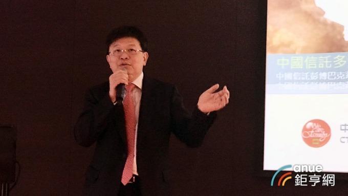 中國信託投信總經理張浴澤。(鉅亨網記者陳蕙綾攝)