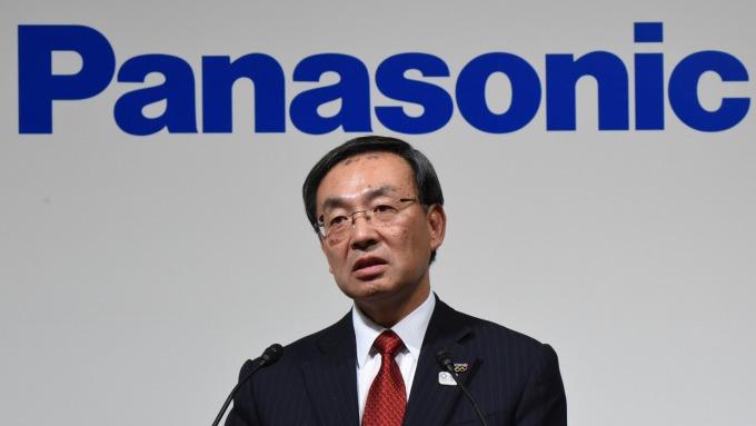 Panasonic社長津賀一宏。(圖:AFP)