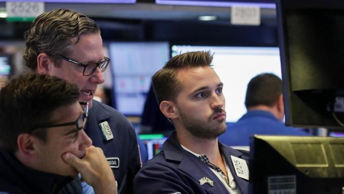 圖:AFP 美國股市目前處於重要關卡位置