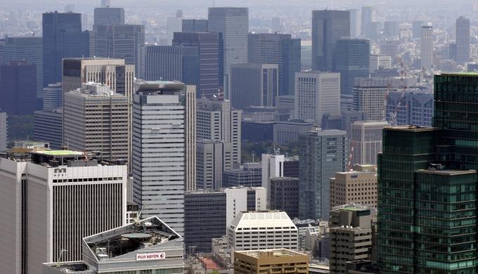 東京的商業區 (圖:AFP)