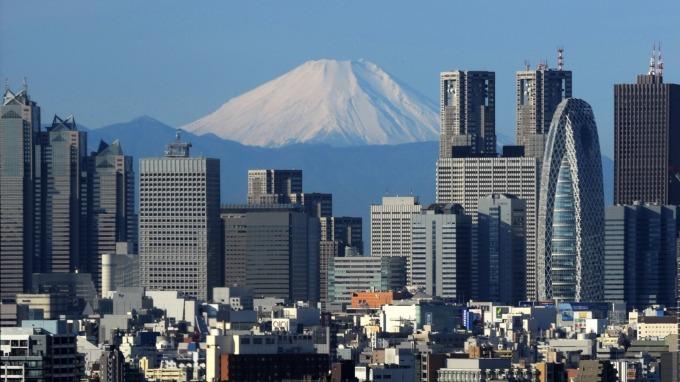 東京新宿區 (圖:AFP)