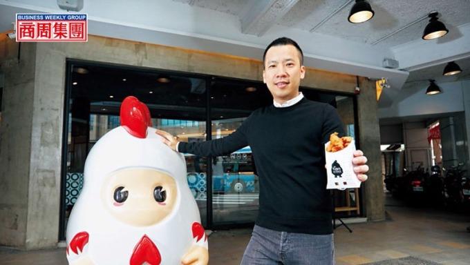 香繼光執行長黃智雄接手父親的路邊攤22年,讓小吃企業化經營、闖出國。(攝影者.楊文財)