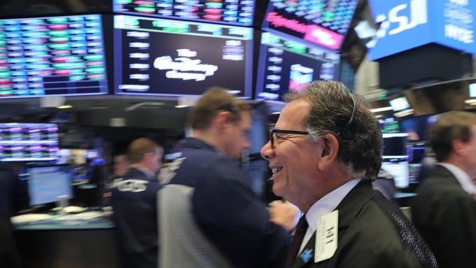 圖:AFP  美國股市近來大幅反彈