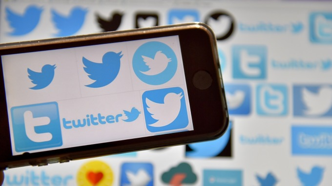 Twitter盤前股價上漲。(圖:AFP)