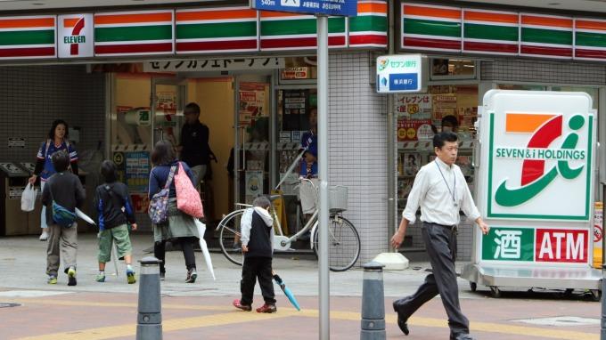 日本7-ELEVEN (圖:AFP)