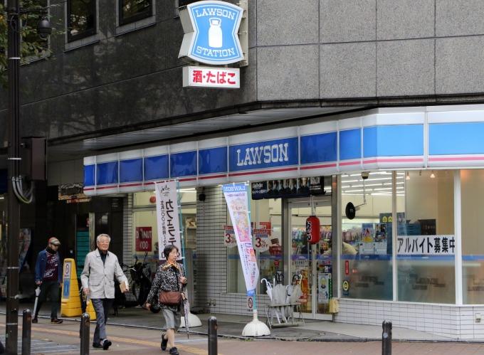 日本的LAWSON便利商店 (圖:AFP)
