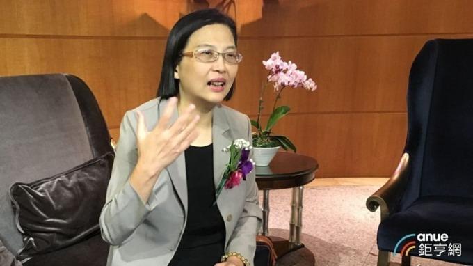 中美晶總經理徐秀蘭。(鉅亨網資料照)