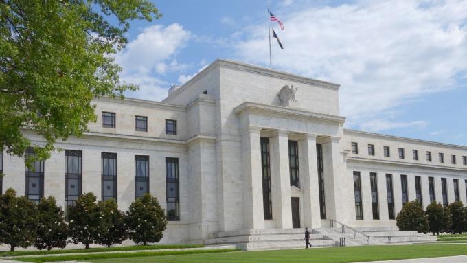 圖:AFP  Fed大樓